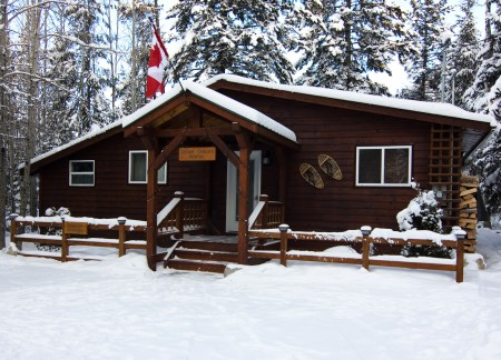 Cedar Chalet in Winter