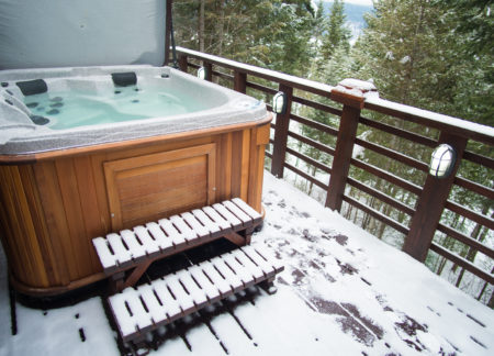 cabins golden bc with private hot tub