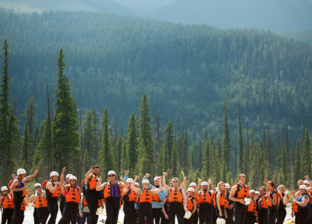 family adventure in the canadian rockies
