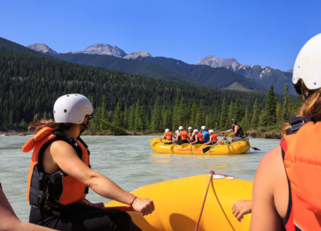 golden bc rafting package with accommodation